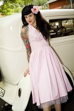 Klänningar - Rose - Rosa Rose klänning